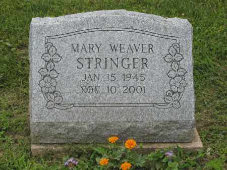 WEAVER STRINGER, MARY - Holmes County, Ohio | MARY WEAVER STRINGER - Ohio Gravestone Photos