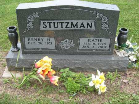 STUTZMAN, KATIE - Holmes County, Ohio | KATIE STUTZMAN - Ohio Gravestone Photos