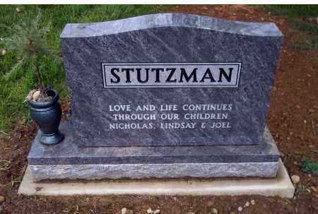STUTZMAN JAMES D, BACK OF STONE - Holmes County, Ohio | BACK OF STONE STUTZMAN JAMES D - Ohio Gravestone Photos