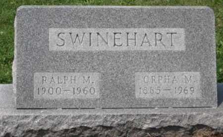 SWINEHART, RALPH M - Holmes County, Ohio | RALPH M SWINEHART - Ohio Gravestone Photos