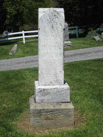 SWOVERLAND MONUMENT, REBECCA - Holmes County, Ohio | REBECCA SWOVERLAND MONUMENT - Ohio Gravestone Photos