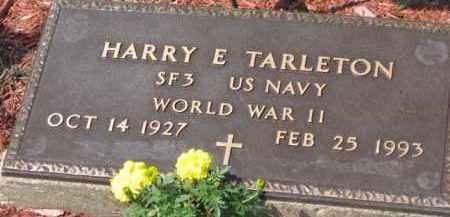 TARLETON, HARRY E. - Holmes County, Ohio   HARRY E. TARLETON - Ohio Gravestone Photos