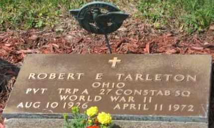 TARLETON, ROBERT E. - Holmes County, Ohio   ROBERT E. TARLETON - Ohio Gravestone Photos