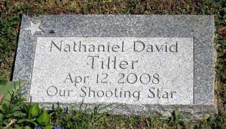 TILLER, NATHANIEL DAVID - Holmes County, Ohio   NATHANIEL DAVID TILLER - Ohio Gravestone Photos