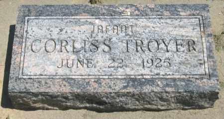 TROYER, CORLISS - Holmes County, Ohio   CORLISS TROYER - Ohio Gravestone Photos