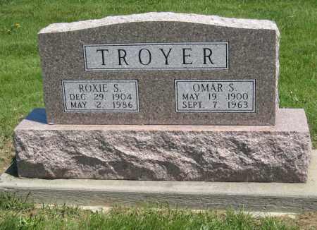 TROYER, ROXIE S - Holmes County, Ohio | ROXIE S TROYER - Ohio Gravestone Photos