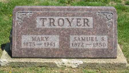 TROYER, SAMUEL S - Holmes County, Ohio | SAMUEL S TROYER - Ohio Gravestone Photos