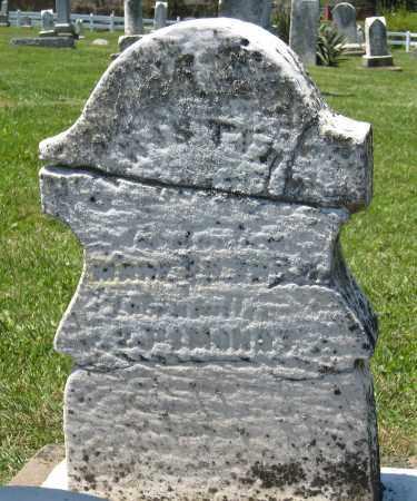 UNKNOWN, CHRISTIAN - Holmes County, Ohio | CHRISTIAN UNKNOWN - Ohio Gravestone Photos