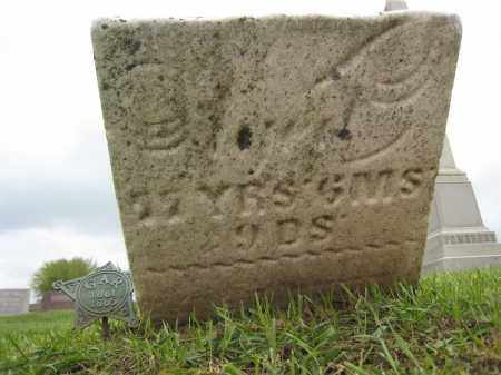 UNKNOWN GAR, BROKEN STONE - Holmes County, Ohio | BROKEN STONE UNKNOWN GAR - Ohio Gravestone Photos