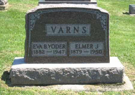 VARNS, EVA B. - Holmes County, Ohio | EVA B. VARNS - Ohio Gravestone Photos
