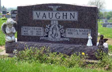 VAUGHN, FREDA MARIE - Holmes County, Ohio | FREDA MARIE VAUGHN - Ohio Gravestone Photos