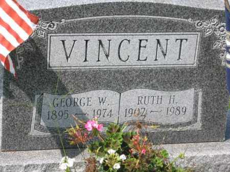 VINCENT, GEORGE W - Holmes County, Ohio   GEORGE W VINCENT - Ohio Gravestone Photos