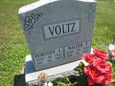 VOLTZ, WALTER F. - Holmes County, Ohio   WALTER F. VOLTZ - Ohio Gravestone Photos