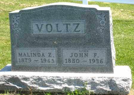 VOLTZ, MALINDA Z. - Holmes County, Ohio   MALINDA Z. VOLTZ - Ohio Gravestone Photos