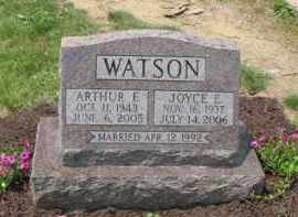 WATSON, JOYCE E. - Holmes County, Ohio | JOYCE E. WATSON - Ohio Gravestone Photos