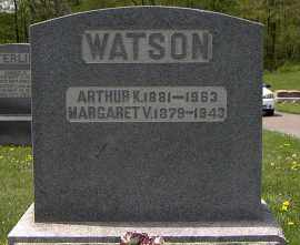 WATSON, MARGARET V. - Holmes County, Ohio | MARGARET V. WATSON - Ohio Gravestone Photos