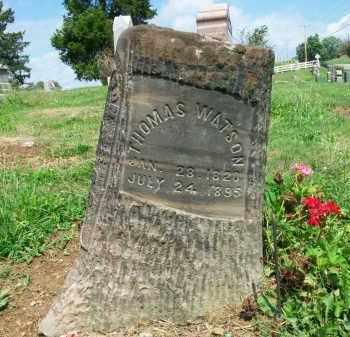 WATSON, THOMAS - Holmes County, Ohio | THOMAS WATSON - Ohio Gravestone Photos