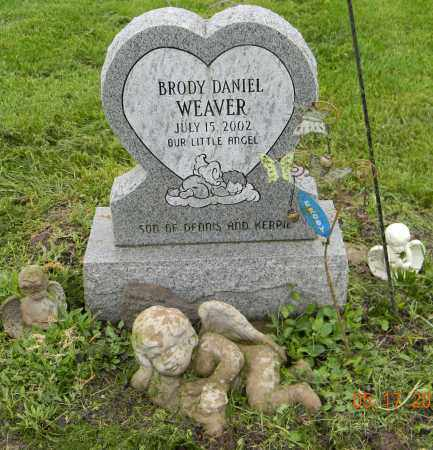 WEAVER, BRODY DANIEL - Holmes County, Ohio   BRODY DANIEL WEAVER - Ohio Gravestone Photos
