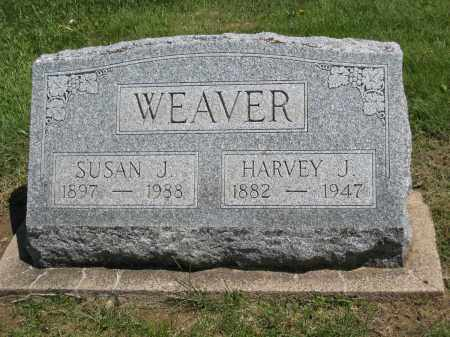 WEAVER, HARVEY J - Holmes County, Ohio | HARVEY J WEAVER - Ohio Gravestone Photos