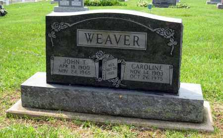 WEAVER, CAROLINE - Holmes County, Ohio | CAROLINE WEAVER - Ohio Gravestone Photos