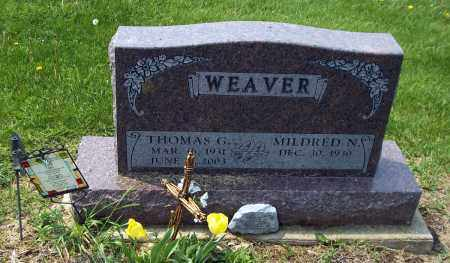 WEAVER, THOMAS G - Holmes County, Ohio | THOMAS G WEAVER - Ohio Gravestone Photos