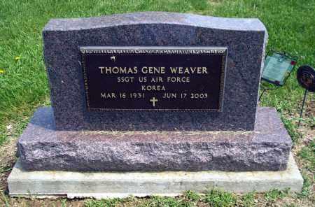 WEAVER, THOMAS GENE - Holmes County, Ohio   THOMAS GENE WEAVER - Ohio Gravestone Photos