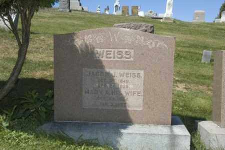 WEISS, MARY A. - Holmes County, Ohio | MARY A. WEISS - Ohio Gravestone Photos