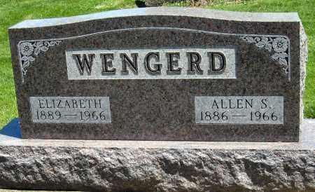 WENGERD, ALLEN S - Holmes County, Ohio   ALLEN S WENGERD - Ohio Gravestone Photos