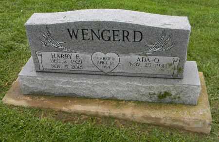 WENGERD, ADA O. - Holmes County, Ohio | ADA O. WENGERD - Ohio Gravestone Photos