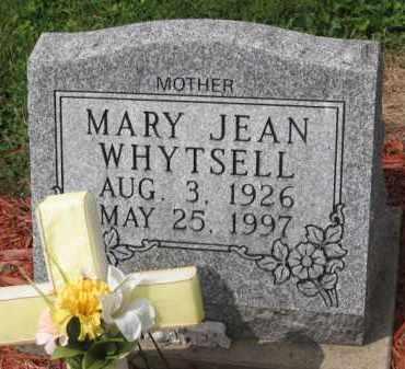JEAN WHYTSELL, MARY - Holmes County, Ohio   MARY JEAN WHYTSELL - Ohio Gravestone Photos