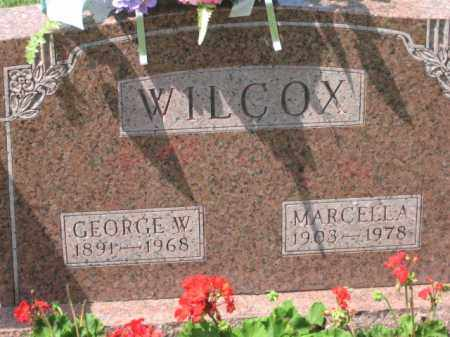 WILCOX, GEORGE W. - Holmes County, Ohio | GEORGE W. WILCOX - Ohio Gravestone Photos