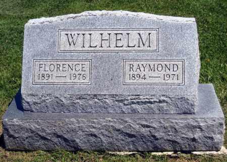 WILHELM, FLORENCE - Holmes County, Ohio | FLORENCE WILHELM - Ohio Gravestone Photos