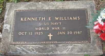 WILLIAMS, KENNETH E. - Holmes County, Ohio | KENNETH E. WILLIAMS - Ohio Gravestone Photos