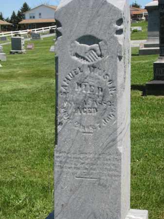 WILSON, SAMUEL - Holmes County, Ohio | SAMUEL WILSON - Ohio Gravestone Photos