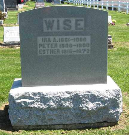WISE, PETER - Holmes County, Ohio | PETER WISE - Ohio Gravestone Photos