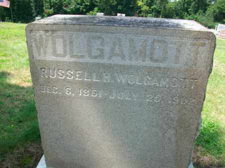 WOLGAMOTT, RUSSELL H. - Holmes County, Ohio   RUSSELL H. WOLGAMOTT - Ohio Gravestone Photos