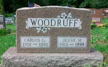 WOODRUFF, JESSIE M. - Holmes County, Ohio | JESSIE M. WOODRUFF - Ohio Gravestone Photos
