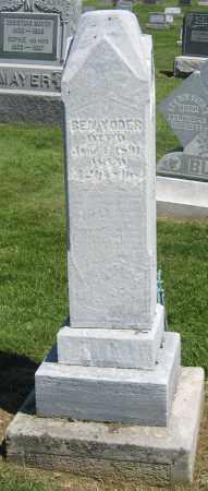 YODER, BEN - Holmes County, Ohio   BEN YODER - Ohio Gravestone Photos
