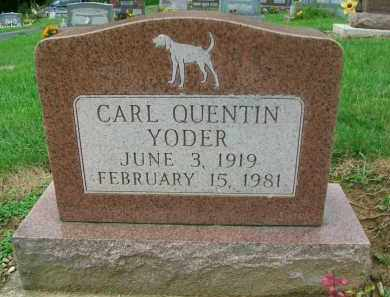 YODER, CARL QUENTIN - Holmes County, Ohio | CARL QUENTIN YODER - Ohio Gravestone Photos
