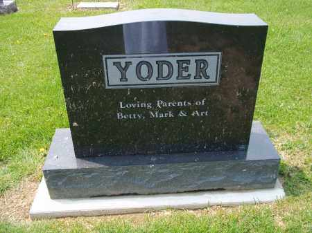 YODER, ART - Holmes County, Ohio | ART YODER - Ohio Gravestone Photos