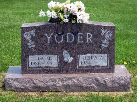 YODER, IDA M. - Holmes County, Ohio | IDA M. YODER - Ohio Gravestone Photos