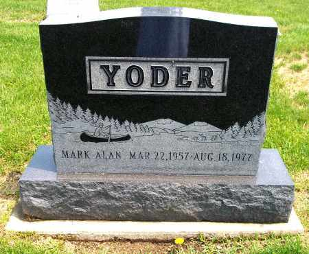 YODER, MARK ALAN - Holmes County, Ohio   MARK ALAN YODER - Ohio Gravestone Photos