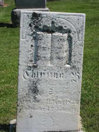 Z_______, CHRISTINA - Holmes County, Ohio | CHRISTINA Z_______ - Ohio Gravestone Photos