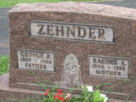 ZEHNDER, GEORGE R. - Holmes County, Ohio | GEORGE R. ZEHNDER - Ohio Gravestone Photos