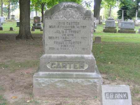 CARTER, JOHN - Huron County, Ohio   JOHN CARTER - Ohio Gravestone Photos