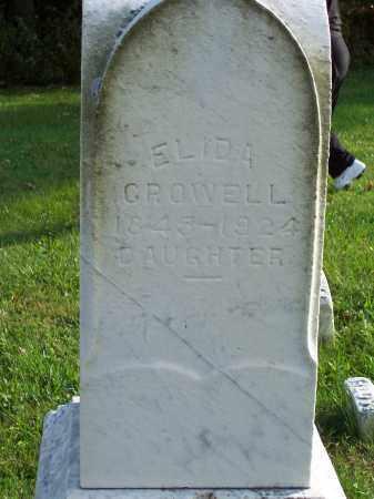 GIFFORD CROWELL, ELIDA - Huron County, Ohio | ELIDA GIFFORD CROWELL - Ohio Gravestone Photos