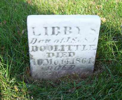 DOOLITTLE, LIBBY S - Huron County, Ohio | LIBBY S DOOLITTLE - Ohio Gravestone Photos