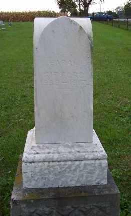 GIFFORD, SARAH - Huron County, Ohio   SARAH GIFFORD - Ohio Gravestone Photos