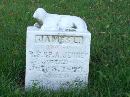 JENNEY, JAMES L - Huron County, Ohio | JAMES L JENNEY - Ohio Gravestone Photos
