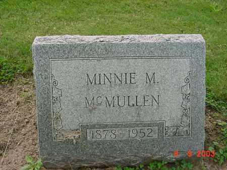 MCMULLEN, MINNIE M. - Huron County, Ohio | MINNIE M. MCMULLEN - Ohio Gravestone Photos